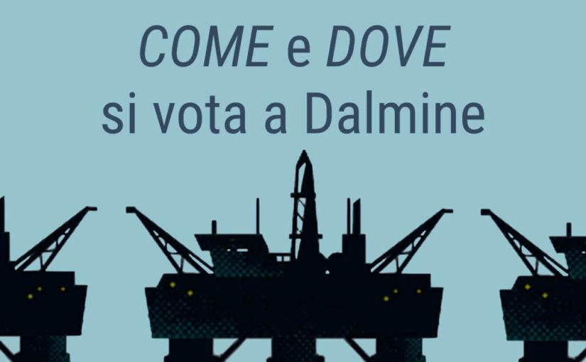 Referendum Trivellazioni: come e dove si vota a Dalmine