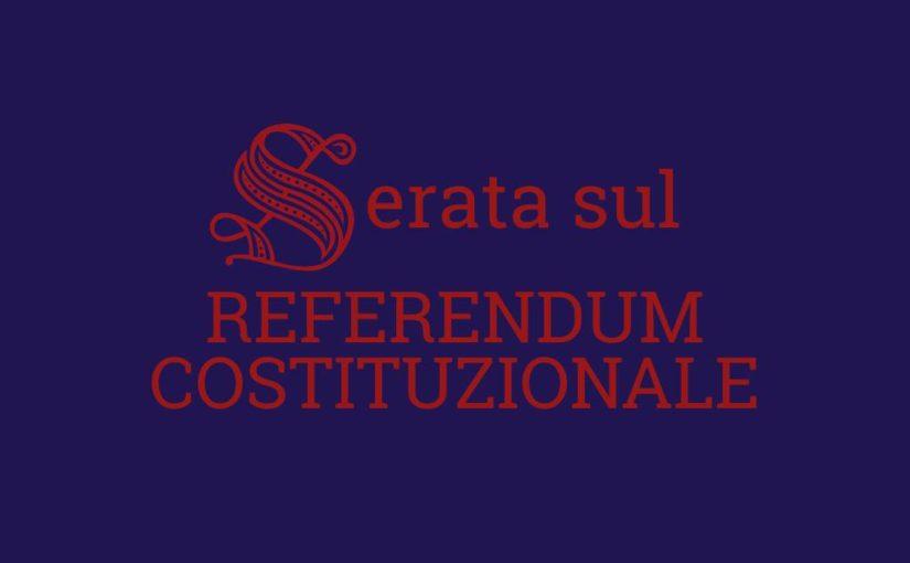 Il Referendum Costituzionale, spiegato bene
