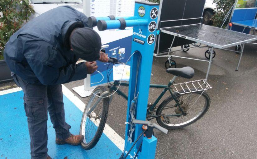 Una richiesta per un totem per le biciclette a Dalmine