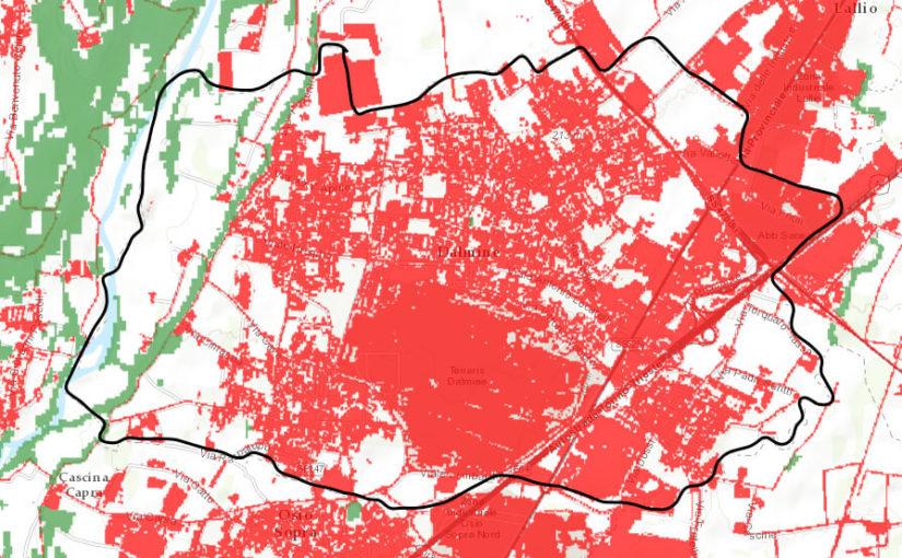 Consumo di suolo a Dalmine, la nostra interrogazione