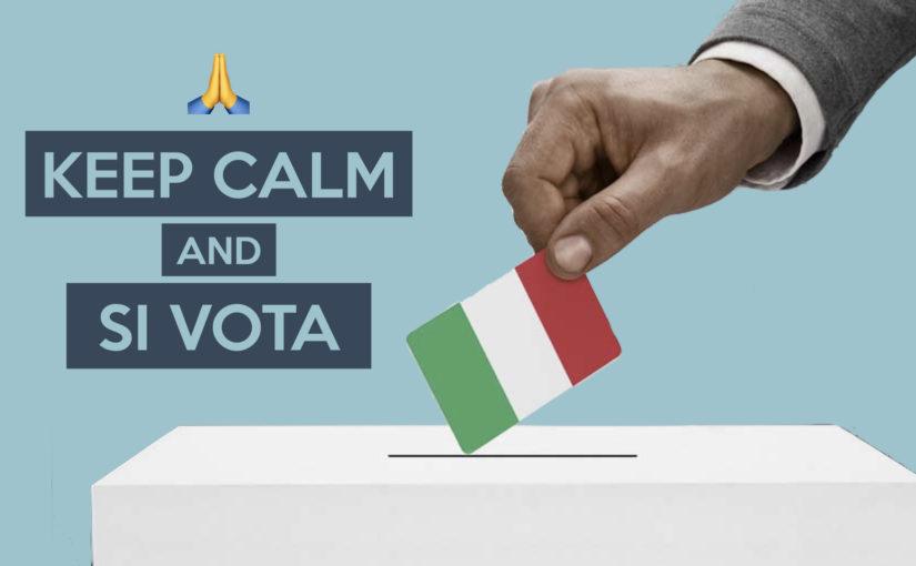KEEP CALM and SI VOTA – Serata Informativa Elezioni Politiche