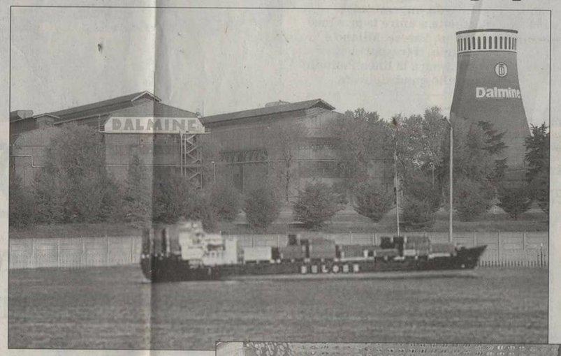 A Dalmine verrà costruito un porto sul Brembo (pesce d'aprile)