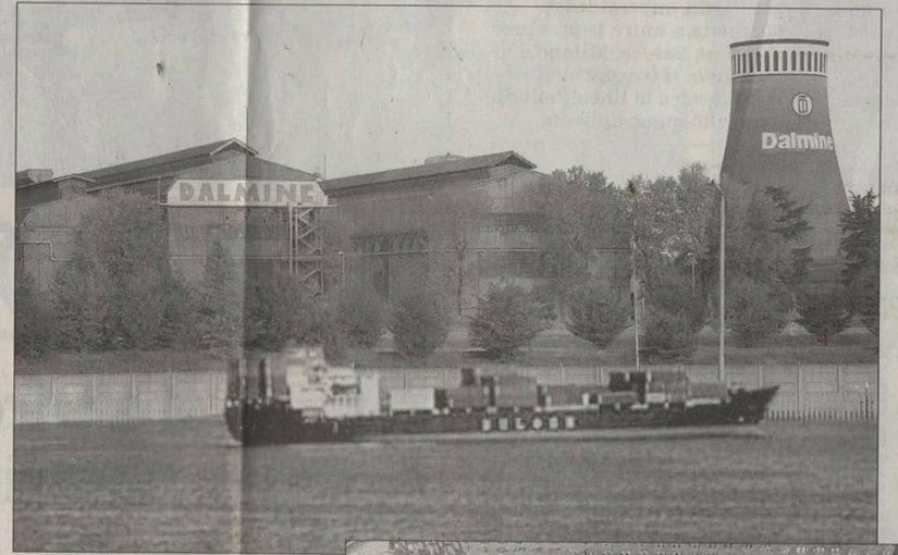 A Dalmine verrà costruito un porto sul Brembo