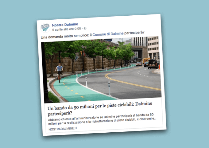 Dalmine non parteciperà al bando da 50 milioni per le piste ciclabili