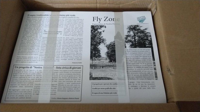 Fly Zone 1, il giornalino di Nostra Dalmine