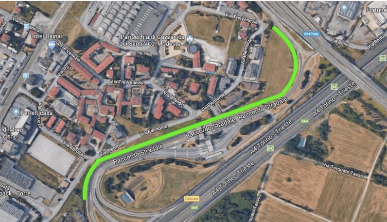 foto barriere verdi casello autostrada dalmine