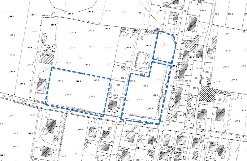 Tavola 1 - Estratto mappa