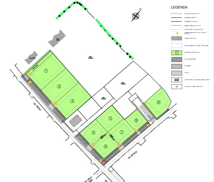 Tavola 2 - Planimetria architettonica