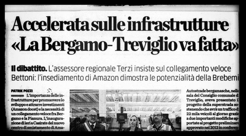 Perché la superstrada Bergamo-Treviglio non serve