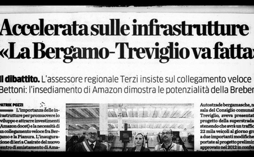 La superstrada Bergamo-Treviglio non serve