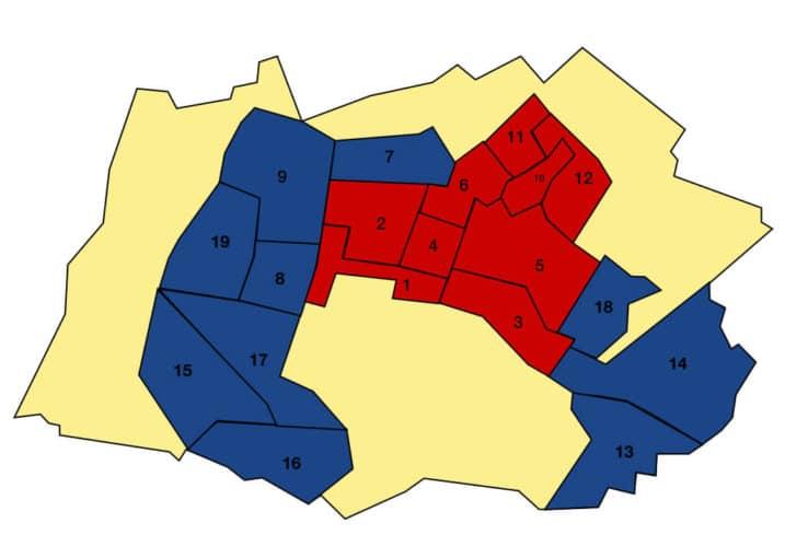 I risultati e le mappe delle elezioni comunali Dalmine 2019