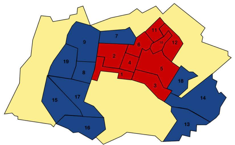 I risultati e le mappe del voto a Dalmine