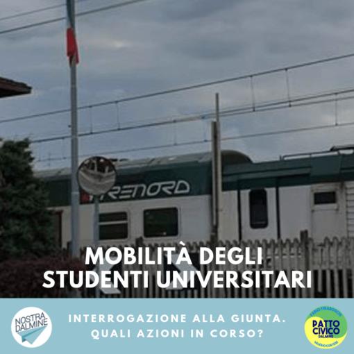 La mobilità degli studenti universitari è un problema