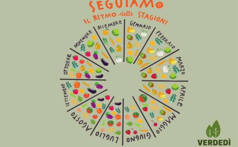 Verdedì #1: la stagionalità della frutta e della verdura