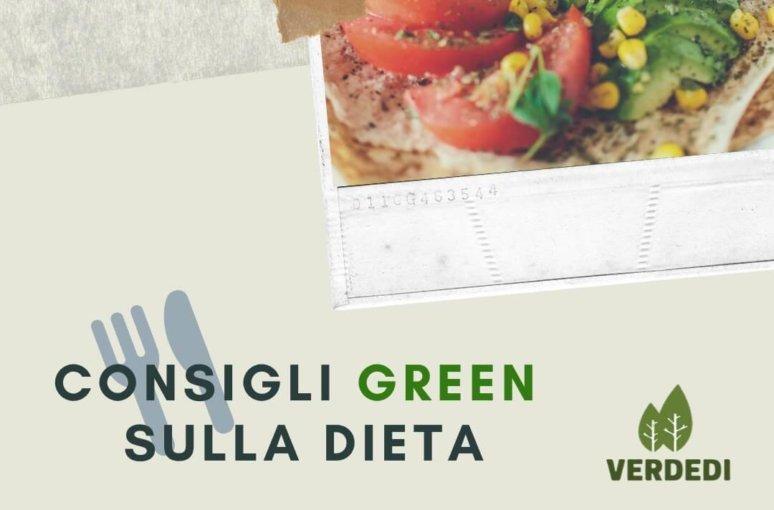 Verdedì #4: Consigli green sulla dieta