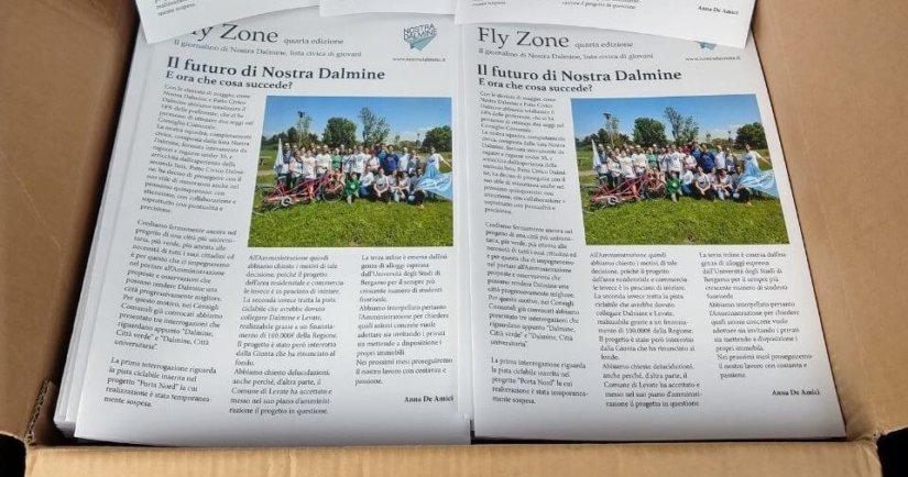 Fly Zone 4, il giornalino di Nostra Dalmine