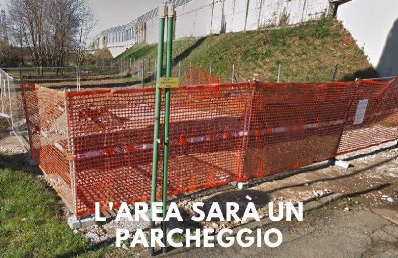 L'area vicina al cimitero napoleonico di Sabbio sarà un parcheggio
