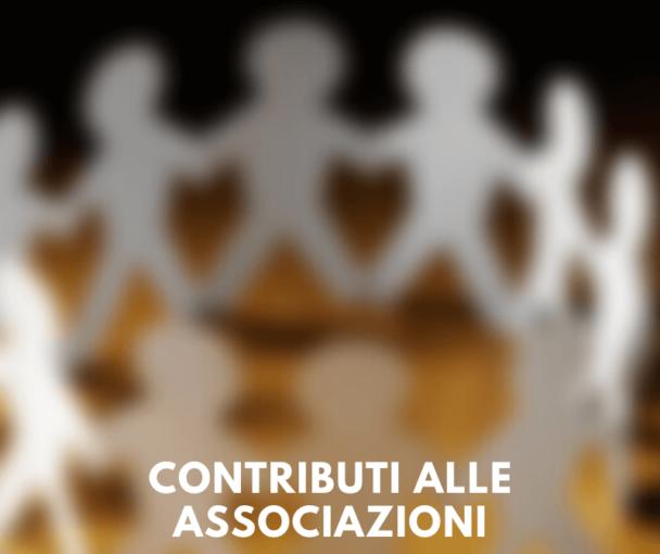 Cambiano le modalità dei contributi alle associazioni