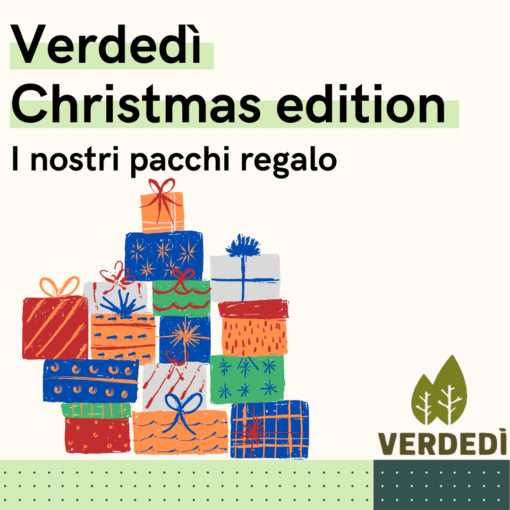 Verdedì 21: I regali ecologici di Natale di Nostra Dalmine