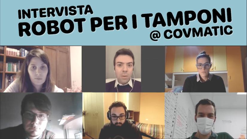 Robotica e Solidarietà durante la Pandemia COVID-19: Intervista Covmatic
