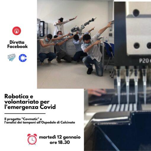 Diretta FB: Robotica e volontariato per l'emergenza Covid
