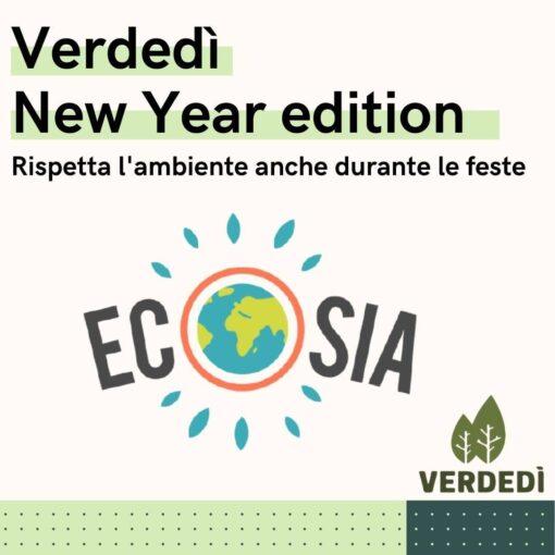 Verdedì 24: Ecosia