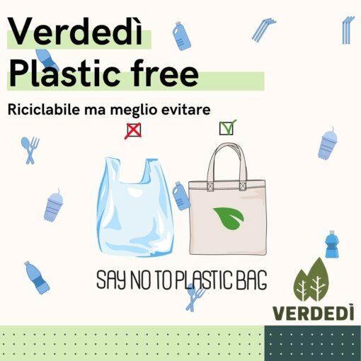 Verdedì 28: Plastic Free