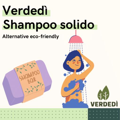 Verdedì 29: Shampoo solido