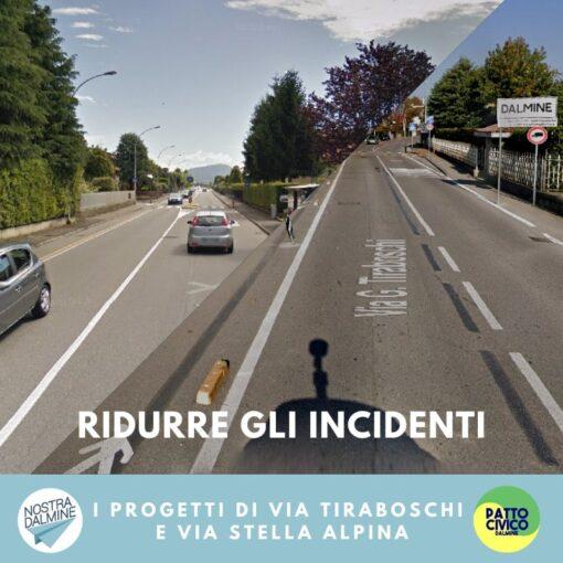 Cosa accadrà a via Tiraboschi e via Stella Alpina