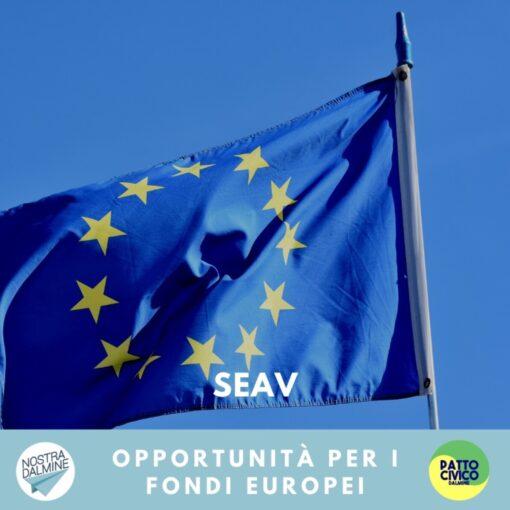 Adesione al progetto SEAV per i bandi europei