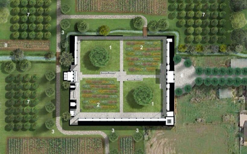 Come diventerà il cimitero di Sforzatica