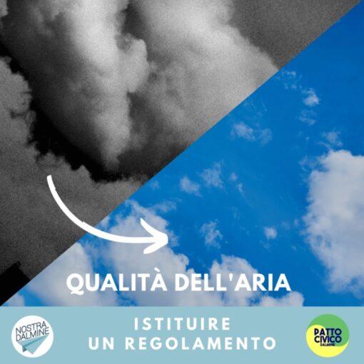 Dalmine ha un piano d'azione per la qualità dell'aria