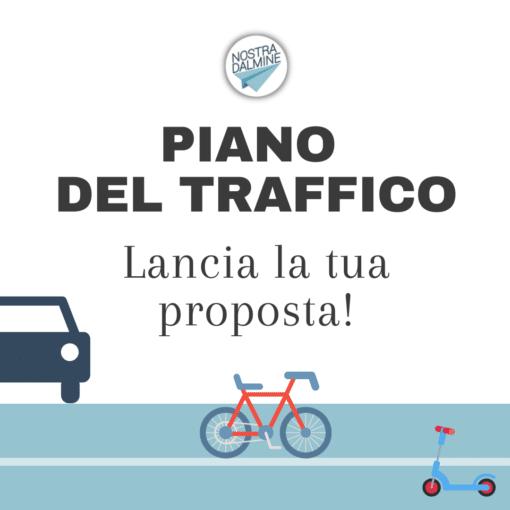 Revisione piano del traffico: lancia la tua proposta!