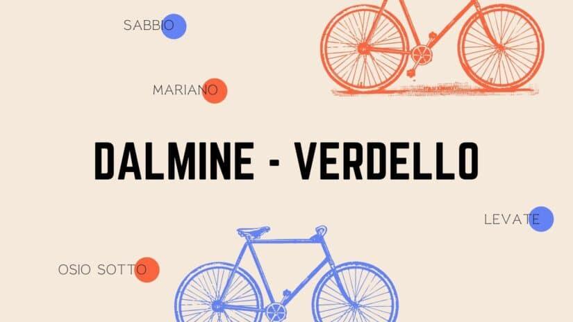 Da Dalmine alla stazione dei treni di Verdello in bicicletta